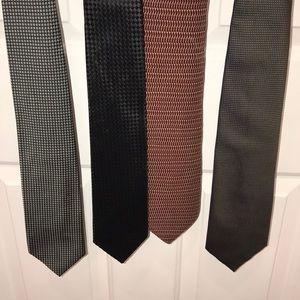 Lot of 4 neckties
